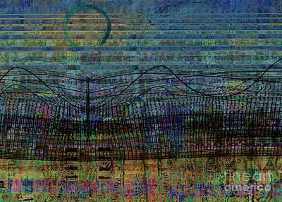 Curvilinear Digital Art - Synchronicity by Andy  Mercer