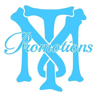 Promotion Drawing - T And M Promotions Logo by Nicholas Grunas