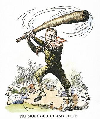 T. Roosevelt Cartoon, 1904 Print by Granger