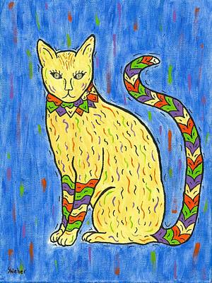 Painting - Tabby Kat by Susie WEBER