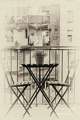 Suburban Digital Art - Table For Two by Svetlana Sewell