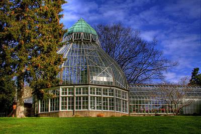 Glass Photograph - Tacoma Botanical Conservatory by David Patterson