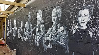 Painting - Taffys Wall Mural 2 by David Maynard