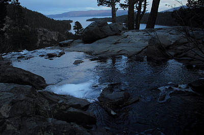 Tahoe Twilight Print by Donna Blackhall
