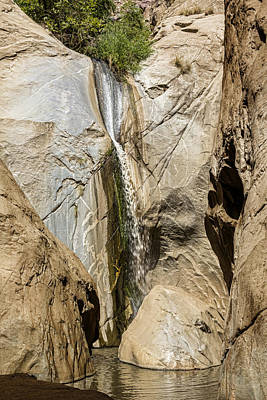 Tahquitz Falls Two Print by Kelley King