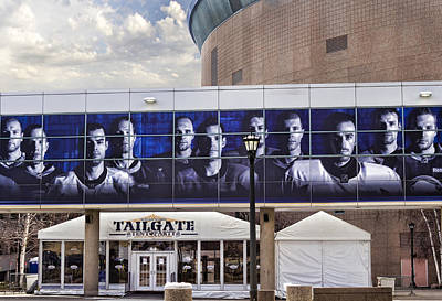 Mural Photograph - Tailgate by Peter Chilelli