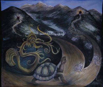 Taino Eve Creation Myth Original by Barbara Nesin