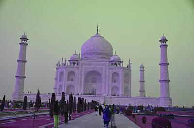 Taj Mahal Print by Vijay Sharon Govender