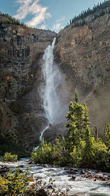 British Columbia Photograph - Takakkaw Falls British Columbia by Joan Carroll