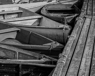 Dinghy Photograph - Take A Bow by Joseph Smith