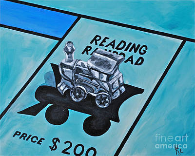 Take A Ride On The Reading  Print by Herschel Fall