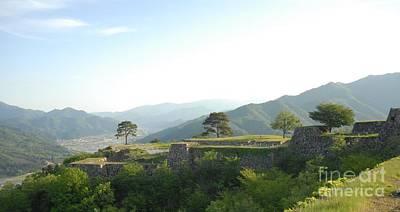 Takeda Castle By Taikan Print by Taikan Nishimoto