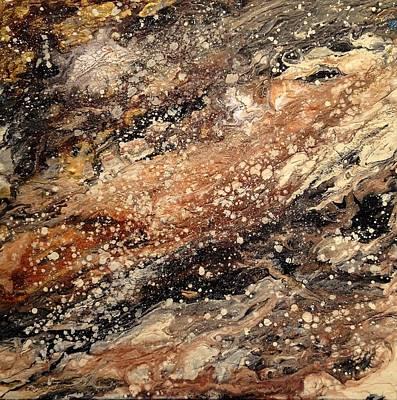 Taken For Granite Print by Ivy Stevens-Gupta