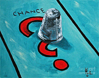 Taking A Chance Print by Herschel Fall