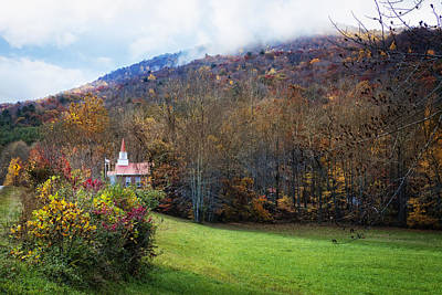Smokey Mountain Drive Photograph - Taking The Scenic Route by Debra and Dave Vanderlaan