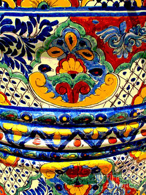 Talavera By Darian Day Print by Mexicolors Art Photography