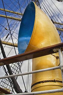 Tall Ship Print by Robert Lacy