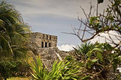 Homesickness Photograph - Talum Ruins 9 by Douglas Barnett