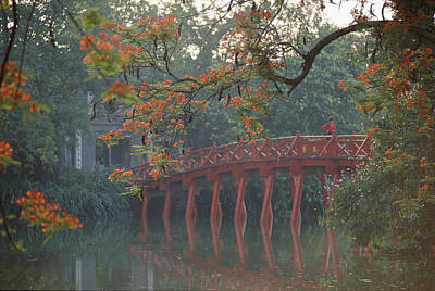 Hanoi Photograph - Tamarind Blossoms Blooming On The Banks by Steve Raymer