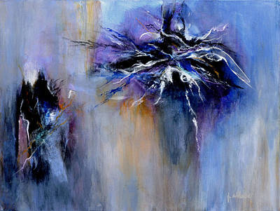 Fireworks Painting - Taming The Blues by Jim Whalen