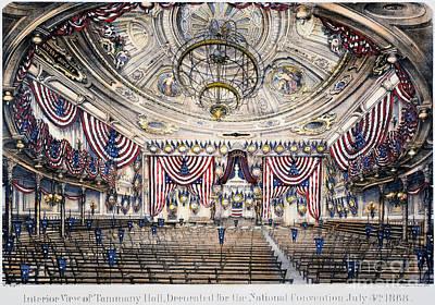 Tammany Hall, Nyc Print by Granger