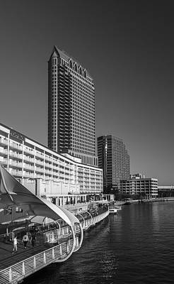 Glass Reflection Photograph - Tampa Gateway by Marvin Spates