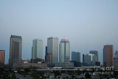 Tampa Photograph - Tampa Skyline by John Black