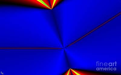 Tangent Print by Ron Bissett