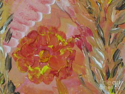Tangerine Painting - Tangerine Yellow by Renu Anne