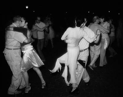 Infrared Photograph - Tango Central Park II by Dave Beckerman