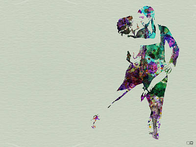 Tango Print by Naxart Studio
