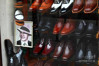 Handmade Icon Photograph - Tango Shoes For Carlos Gardel by James Brunker