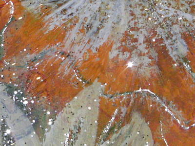 Tangy Mixed Media - Tangy Twinkles by Anne-Elizabeth Whiteway