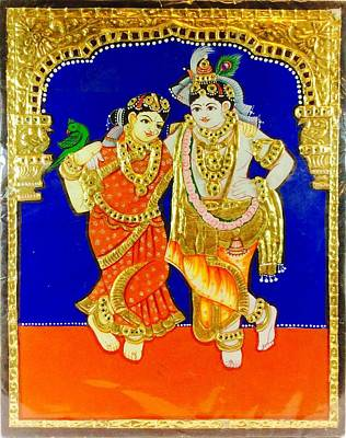 Tanjore Painting - Tanjore Painting by Kandya