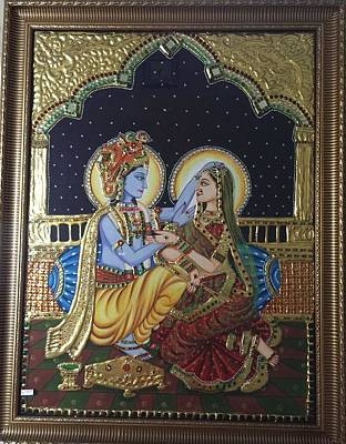 Tanjore Painting - Tanjore Painting by Ruchika Agarwal