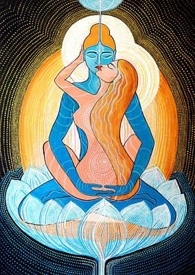 Inner Light Painting - Tantric Love by Agnieszka Szalabska