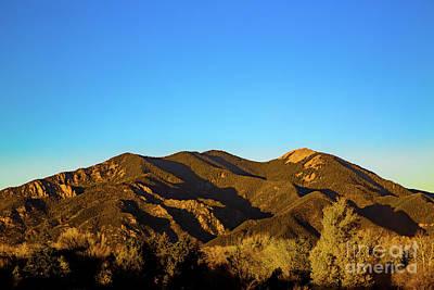 Taos Evening Print by Jon Burch Photography