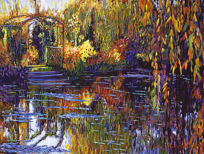 Tapestry Reflections Print by David Lloyd Glover