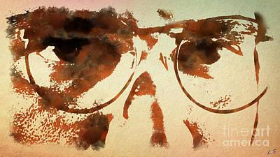 Tarantino Film Painting - Tarantino by Sergey Lukashin