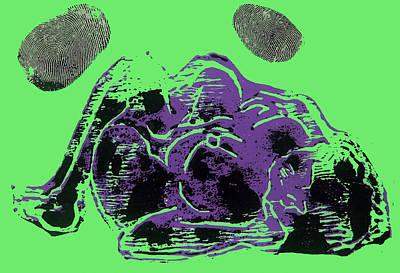 Tarbaby 3 Print by Adam Kissel
