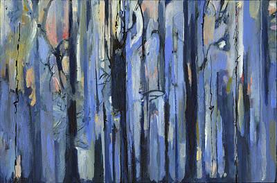 Lacrosse Painting - Tar Forest by Revere La Noue