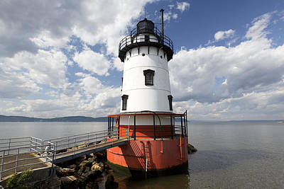 Historic Site Photograph - Tarrytown Lightouse On The  Hudson River by George Oze