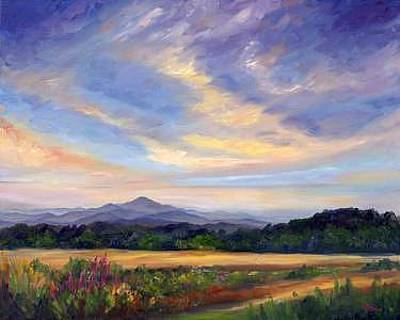 Asheville Painting - Taste Of Spring by Jeff Pittman