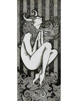 Taurus Print by Zelde Grimm