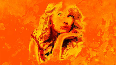 Taylor Swift Mixed Media - Taylor Swift 02c by Brian Reaves