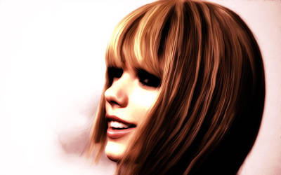 Taylor Swift Mixed Media - Taylor Swift 7a by Brian Reaves