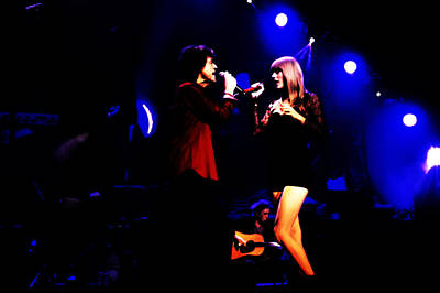 Taylor Swift Mixed Media - Taylor Swift And Mick Jagger 2a  by Brian Reaves