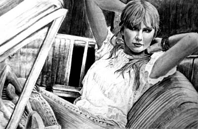 Taylor Swift Drawing - Taylor Swift by Ashish Giri