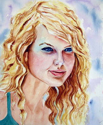 Taylor Swift Painting - Taylor Swift by Brian Degnon
