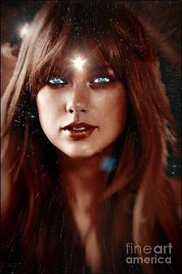 Taylor Swift Digital Art - Taylor Swift - Goddess by Robert Radmore